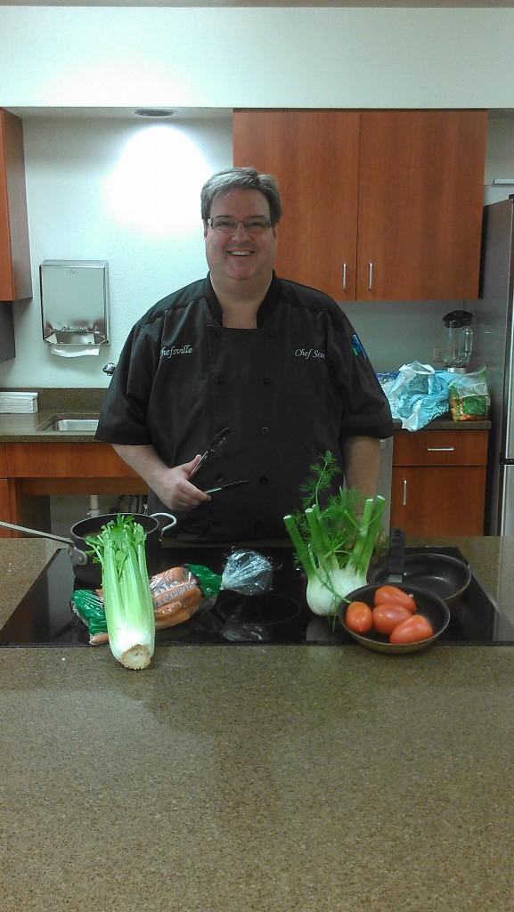 Chef Scott of Chefsville and Chefsville Kids programs