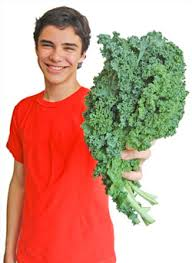 Teenage boys also become vegetarians and need your support