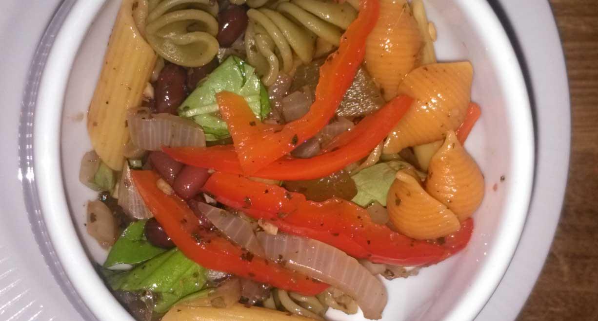 Plate-BeanAndPastaSalad