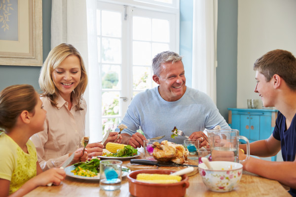Food Literacy - Quality family time around the table