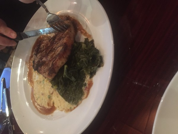 Pork Chop from Julia Pearl Southern Cuisine @jpsouthernfood