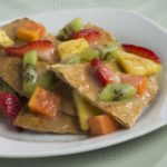 Nachos with Fresh Fruit