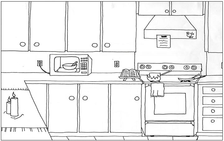 Safety Kitchen Dangers Fire Hazards