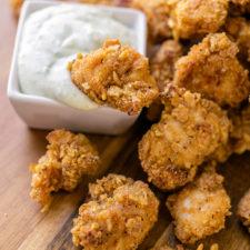 Baked Crispy Chicken Bites
